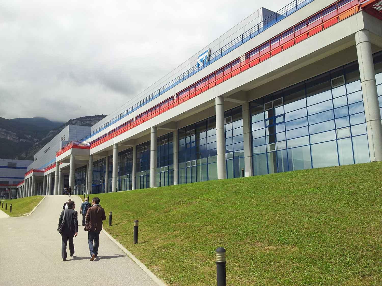 Stmicroelectronics crolles setec for Piscine de crolles
